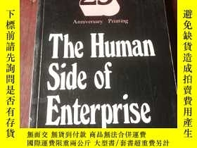 二手書博民逛書店The罕見Human Side of Enterprise 25th Anniversary Printing