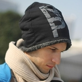 針織毛帽-韓版休閒加絨保暖男女帽子7色73if24[時尚巴黎]