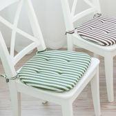 椅子坐墊學生實木凳子餐椅墊電腦椅座墊厚屁股墊椅墊子坐墊帶綁帶