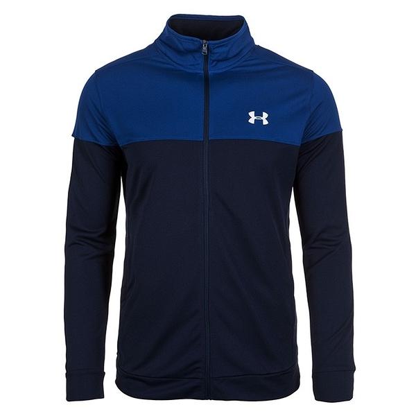 *樂買網* 18SS Under Armour/男士UA Sportstyle Pique 夾克/1313204-408