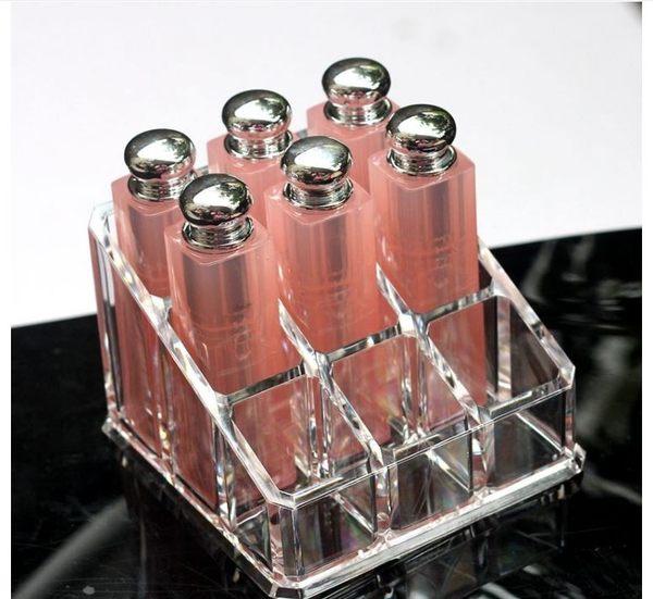 透明壓克力收納盒9格