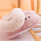 包跟拖鞋 棉拖鞋女秋冬季全包跟厚底家用室內保暖防滑情侶家居月子鞋冬產后 優拓