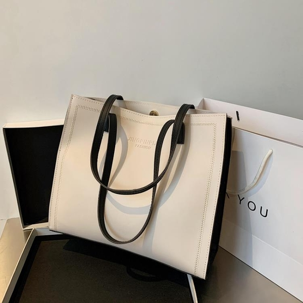 女士包包女大容量包新款2021時尚潮2021流行側背包托特包手提大包 618狂歡