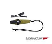 丹大戶外用品【MORAKNIV】瑞典 ELDRIS NECK KNIFE KIT 不鏽鋼短直刀組 綠 12633