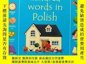 二手書博民逛書店First罕見Hundred Words in Polish 英語 波蘭語 雙語 插圖基礎詞100Y26464