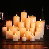 香薰蠟燭 經典象牙白圓柱無煙無味婚慶蠟燭酒店教堂聖誕西餐廳家用蠟燭 多款