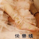 女玻璃絲襪網紗襪星星中筒襪堆堆襪薄女襪潮