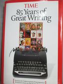 【書寶二手書T8/原文書_YGQ】TIME:85Years of Greatest Writing_Time Magaz