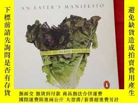 二手書博民逛書店IN罕見DEFENSE OF FOOD MICHAEL POLL