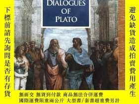 二手書博民逛書店F1罕見Great Dialogues of Plato 外文原