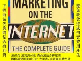 二手書博民逛書店GUERRILLA罕見MARKETING ON THE INTE