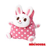MIKI HOUSE 可愛舞颯兔造型背包(粉紅)