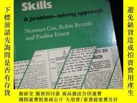二手書博民逛書店Writing罕見Skills A probiem-solving approach for upper-inte