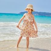 兒童洋裝 女童洋裝夏裝2020新款潮韓版洋氣夏季小清新中長款小仙女裙子