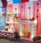 一定要幸福哦~~ 婚禮佈置,包套專案8000元會場佈置,浪漫型婚禮氣球佈置