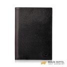 【BRAUN BUFFEL】OPHELIA-R 奧菲莉亞R系列護照夾 - 黑色 BF643-R181-BK