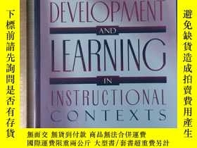二手書博民逛書店Cognitive罕見development and learning and infant in instruc
