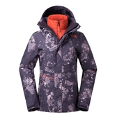 The North Face 女 DryVent 兩件式滑雪外套 紫 NF0A367PXFB【GO WILD】