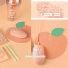 韓國大創Peach Lover桃子造型滑鼠墊 1入