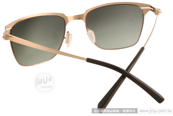 VYCOZ 太陽眼鏡 ZEELER GOL-GOLD (金) 薄鋼工藝 個性經典款  # 金橘眼鏡