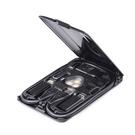 CARD KableCARD 都市生存卡 黑色 Qi無線充電 內建讀卡機 手機架功能 6種不同充電線