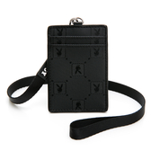 PLAYBOY- 證件套 黑暗騎士upgrade系列 -黑色