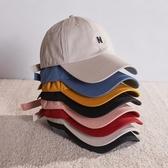 太陽帽 唐獅太陽帽子男女潮棒球帽韓版學生ins風字母刺繡情侶防風鴨舌帽 宜品