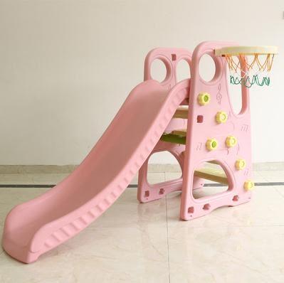 升級家用滑梯室內兒童溜滑梯秋千組合寶寶滑滑梯球池組合玩具【全館免運八九折爆槍】