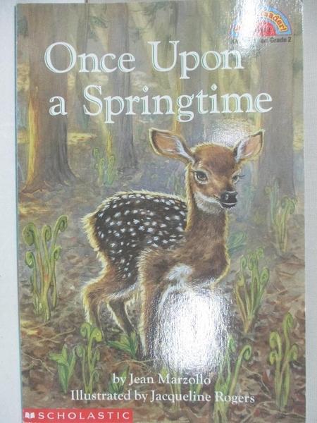 【書寶二手書T2/語言學習_I9U】Once Upon a Springtime_Jean Marzollo