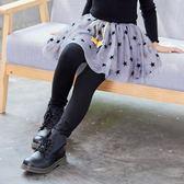 【新年鉅惠】 女童打底褲裙褲假兩件2018春秋新款韓版兒童寶寶長褲網紗裙擺褲子