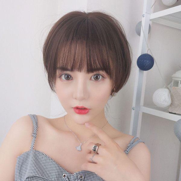 假髮 空氣瀏海 鄰家女孩溫柔系BOBO頭 短髮【MB509】☆雙兒網☆