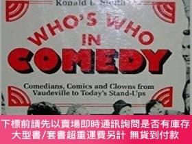 二手書博民逛書店Who s罕見Who in Comedy: Comedians, Comics, and Clowns from
