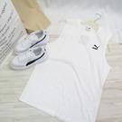 PUMA 流行系列 CLASSICS 刺繡背心 男款 59981402 白 歐規【iSport愛運動】