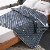 床褥薄款鋪墊褥子棉薄可水洗墊褥1.5m榻榻米床墊被家用1 「爆米花」