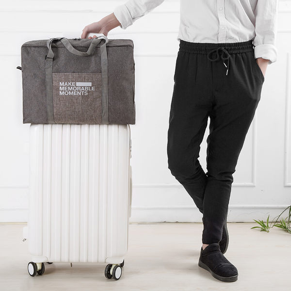 【NF側背包】可折疊兩用手提包 行李箱旅行袋 登機箱拉桿包 休閒包 帆布手提袋