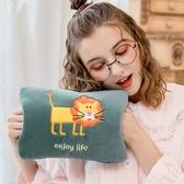 熱水袋充電式 防爆暖手寶 毛絨學生可愛煖寶寶 注水女韓版暖水袋熱寶