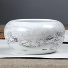 陶瓷創意大煙灰缸 客廳擺件時尚個性茶海復...