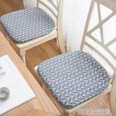 日式棉麻 坐墊餐桌椅墊子辦公學生打坐墊榻榻米家用板凳防滑軟墊 優樂美
