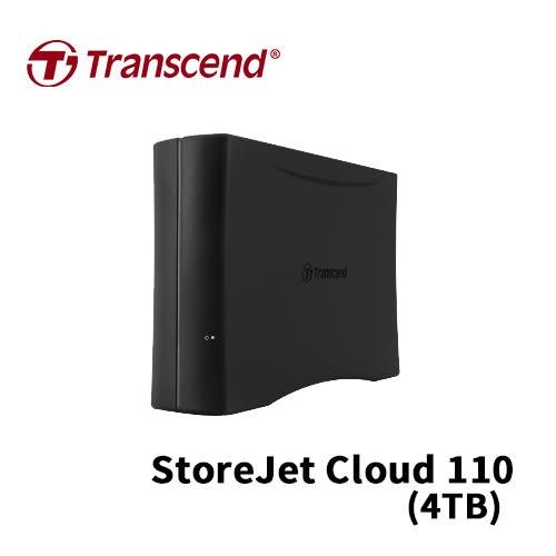 Transcend 創見 StoreJet Cloud 110 4TB USB3.0 3.5吋 個人雲端硬碟