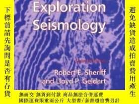 二手書博民逛書店Exploration罕見SeismologyY255562 R. E. Sheriff Cambridge