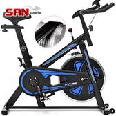 勇士競速飛輪車(皮帶傳動)飛輪健身車.公路車自行車訓練機台.動感單車腳踏車美腿機【SAN SPORTS】