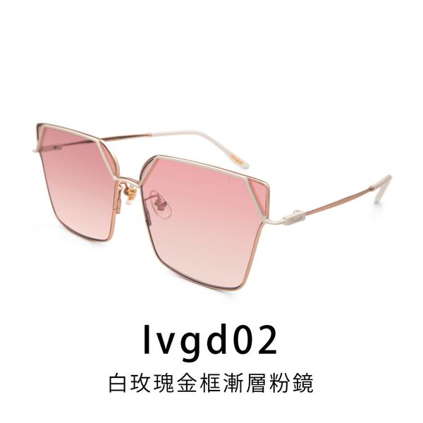 【Front 太陽眼鏡】Attention-六色可挑選(#幾何大框款太陽眼鏡/墨鏡)
