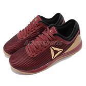 Reebok 訓練鞋 R CrossFit Nano 8.0 紅 金 健身專用 女鞋 運動鞋【PUMP306】 DV5750