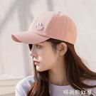 鴨舌帽ins女夏2020韓版百搭顯臉小防曬帽子女遮陽太陽棒球帽「時尚彩紅屋」