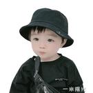 寶寶盆帽嬰兒漁夫帽男女兒童防曬遮陽春夏秋3-6個月1-4歲棉潮  一米陽光
