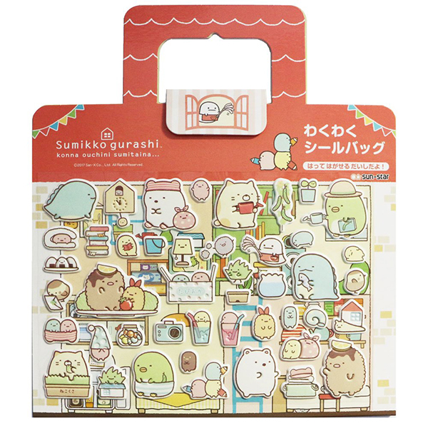【角落生物 立體泡棉貼紙】角落生物 立體 泡棉貼 重複貼紙 日本正版 該該貝比日本精品 ☆