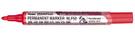 《享亮商城》NLF50-B 紅色 圓頭後壓式油性筆 百點