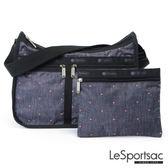 LeSportsac - Standard雙口袋A4大書包-附化妝包 (輕吻) 7507P F090