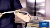 【麗室衛浴】德國GROHE 廚房龍頭專用伸縮軟管 46028 適合32918型號