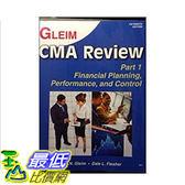 [106美國直購] 二手書 Gleim cma review part 1 financial planning,performance,and control 15th edition(part 1